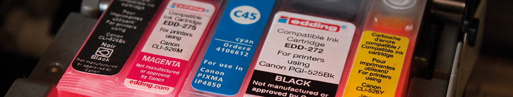 Druckerpatrone, Tinte und Toner für Drucker